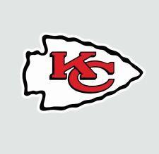 High quality full color sticker made from premium satin vinyl. Nfl Chiefs, Kansas City Chiefs Football, Nfl Logo, Sports Logo, Kc Cheifs, Chiefs Wallpaper, Kc Football, Sports Decals, Chill