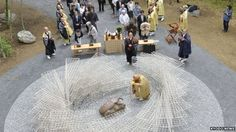 Japan: Monument honours insects killed by humans