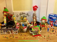 The elves always celebrate St Nicholas Day by filling the shies with sweets.  We even have a St Nicholas Playmobil set to mark the day. The Elf, Elf On The Shelf, St Nicholas Day, Playmobil Sets, Woodland Elf, Father Christmas, Magical Creatures, Family Traditions, Easter Bunny