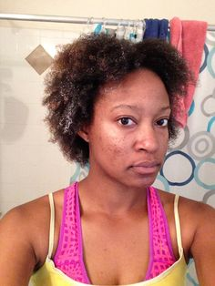 My wash and Go with conditioner!