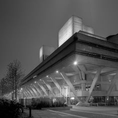 """jzaphotography: """" The Royal National Theatre Sir Denys Lasdun """" Royal National Theatre, Brutalist, Great Britain, To Go, Building, Modern, Photography, Collection, Architecture"""