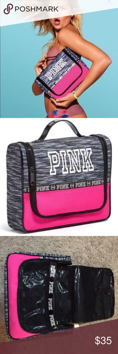VS PINK Travel Shower Case Black New with tags. PINK Victoria's Secret Bags Cosmetic Bags & Cases