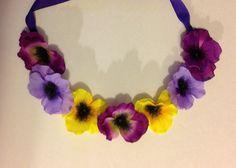 Flower Crown  Flower Crown Headband  Hippie by trendybowsnbands, $11.00