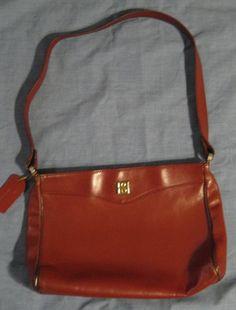 Vintage Oxblood Borelli Leather Shoulder Bag by GoodBuyForNow on Etsy