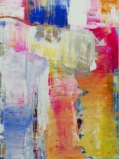 """Untitled 21413- 30""""x40"""" oil on canvas by lindsay cowles art"""