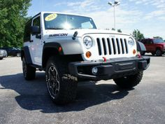 2013 Jeep Wrangler Rubicon 4x4 Rubicon 2dr SUV SUV 2 Doors Bright White Clear Coat for sale in Michigan city, IN Source: http://www.usedcarsgroup.com/used-jeep-for-sale-in-michigan_city-in