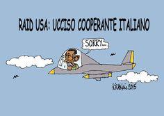 #IoSeguoItalianComics #satira #politica #Usa #NewYorkTimes #drone