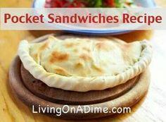 Pocket sandwiches