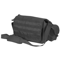Voodoo Tactical Voyager Shoulder Bag With MOLLE Webbing Black for sale online Voodoo Tactical, Tactical Backpack, Molle Gear, Edc Bag, Hunting Supplies, Hunting Bags, Molle Pouches, Duty Gear