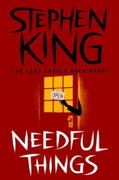 If you were already freaked out by Stephen King's horrible psyche before, then this could make things a tad worse. Scribner is releasing a ton of Stephen King classics as e-books, with minimalist cover art by Jim Tierney and art direction by Jaya Miceli.