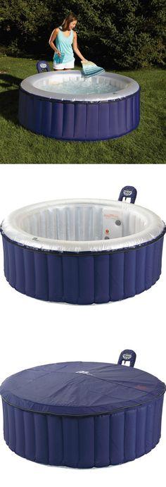 4 person inflatable hot tub u2014 relax refresh rejuvenate - Wayfair Hot Tub