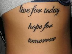 Image result for inspirational quote tattoos