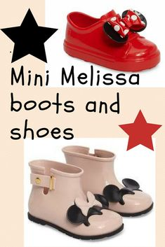 Absolutely adorable!! Mini Melissa rain boots and slip on sneakers. Just so cute! #babyshoes #baby #babyshowerideas #ad