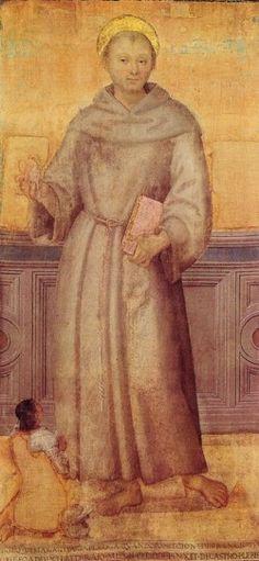 Perugino, S. Antonio e devoto