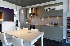Kleine rechte (project)keukens hoeven niet standaard en saai te zijn
