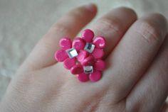 Anillos flor en cualquier...color ;) 2 €