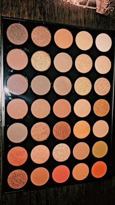 This eyeshadow palette is so pretty morphe palette perfect for creating a neutral glam eye look with all they shimmer shadows to set it off . Makeup Needs, Love Makeup, Beauty Makeup, Crazy Makeup, Makeup Art, Glossy Makeup, Skin Makeup, Makeup Brands, Best Makeup Products