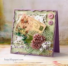 love all the layers in this card, so beautiful