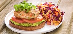 Veggie Turkey Burgers with Skinny Sweet and Tangy Cole Slaw by Chefd Partner Skinny Ms Dinner for 4 *** Find out more about the great product at the image link. (This is an affiliate link) Turkey Patties, Turkey Burgers, Healthy Snacks, Healthy Eating, Healthy Recipes, Gourmet Recipes, Cooking Recipes, Rolled Sandwiches, Delicious Burgers