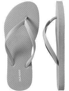 Old Navy Women's New Classic Flip-Flops - ShopStyle Sandals Silver Flip Flops, Old Navy Flip Flops, Navy Sandals, People Dancing, Womens Flip Flops, Flip Flop Shoes, Old Navy Women, Silver Shoes, Flipping