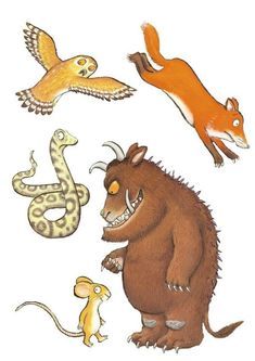 Gruffalo Nursery Wall Stickers Small Size – Well & Truly Stuck Stickers – Home Education Gruffalo Party, The Gruffalo, Nursery Wall Stickers, Wall Decals, Curious Creatures, We Are Family, Conte, Weekend Is Over, Early Education