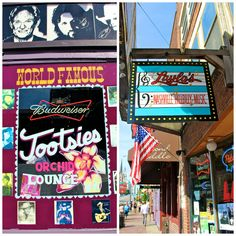 My top spots for listening to music are on Lower Broadway:  1.) The Stage 2.) Tootsie's 3.) Honky Tonk Central.  Layla's and Legends Corner are also awesome and they are really all beside each other.
