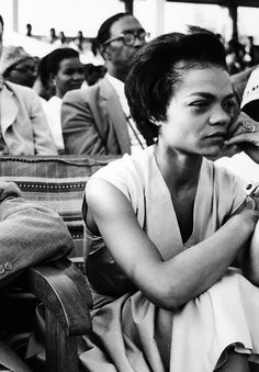 Eartha Kitt civil Rights March.
