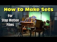 How to Build Sets for Stop Motion Animation - YouTube