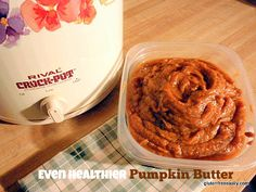 Even Healthier Pumpkin Butter from Gluten-Free Easily