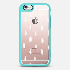 White Rain  - New Standard Case in Teal and Clear by @jinseikou   @casetify