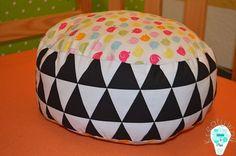 Pouf/ floor pillow/ pufa