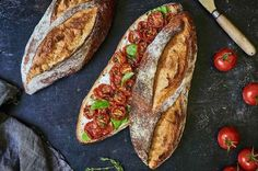 Extra tangy sourdough bread A chewy, light-textured loaf with a creamy, hole-riddled interior. Sourdough Recipes, Sourdough Bread, Flour Recipes, King Arthur Sourdough Recipe, Flatbread Recipes, Gf Recipes, Delicious Recipes, Free Recipes, Baking Recipes