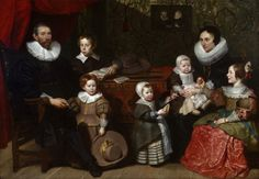 1631 Cornelis de Vos - Portrait of Anthony Reyniers and His Family