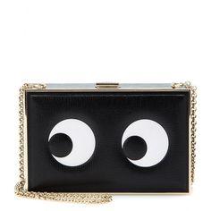 Anya Hindmarch - Imperial leather box clutch - mytheresa.com