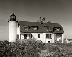 Point Betsie's side yard by rexp2, via Flickr Lighthouse