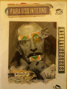 """""""Unusual Art"""" using a Dali image... Ron Huxley created this #collage."""
