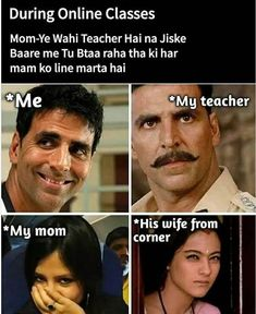 Funny Memes Images, Funny Jokes In Hindi, Funny School Jokes, Some Funny Jokes, Really Funny Memes, Crazy Funny Memes, Good Jokes, Funny Relatable Memes, Funny Facts