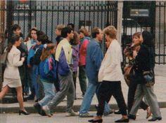 April 30 to May 3/4 1993: Diana in Paris with Lucia Flecha de Lima and Lady Hayat Palumbo