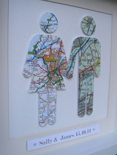 Choose the city where each of you are from.and create a personalised couple map … Choose the city where each of you are from.and create a personalised couple map picture framed by little bird designs Map Crafts, Arts And Crafts, Gift Crafts, Map Pictures, Vintage Maps, Antique Maps, Collage Vintage, Bird Design, Couple Gifts