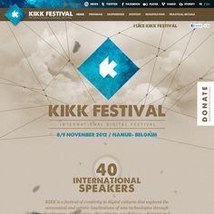 Website http://kikk.be/2012/ snapped on Snapito!