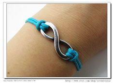 10OFF Discount Blue Ropes Steampunk Bracelet by sevenvsxiao, $2.59