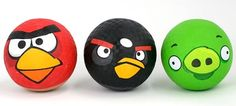 The Angry Birds have turned up just about everywhere, so why not on the school playground, too? With these Angry Birds playground balls you can get your Angry Birds, Playground, Balls, Kicks, Birthday Parties, Party Ideas, Children Playground, Anniversary Parties, Birthday Celebrations