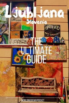 The ultimate guide to the beautiful and alternative city of Ljubljana, capital of Slovenia! Europe Travel Guide, Travel Guides, Travel Tips, Travel Articles, Travel Advice, Amazing Destinations, Travel Destinations, Slovenia Travel, Visit Slovenia