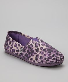 Look at this #zulilyfind! Purple Leopard Slip-On Shoe by Shoes of Soul #zulilyfinds