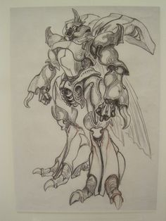 Character Design Animation, Character Design References, Gundam, Cool Drawings, Drawing Sketches, Monster Design, Art Model, Creature Design, Fantasy Art