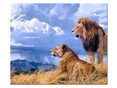 Resultado de imagen para LION ART CANVAS