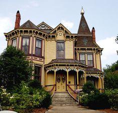 victorian architecture ohio | old house # victorian house # architecture