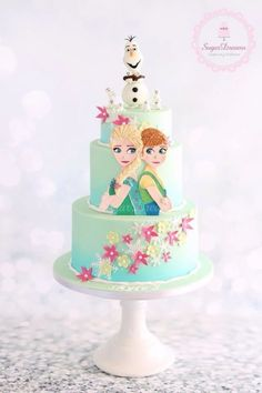 Frozen Fever cake