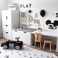 565 To se mi líbí 8 komentářů Kids & Baby Inspiration ( Kinderzimmer Ikea Kids Room, Kids Bedroom, Baby Room Decor, Bedroom Decor, Kids Room Design, Baby Boy Rooms, Kidsroom, Kid Spaces, Room Inspiration