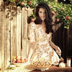 Peach-Tree Pie. ~ Christine McConnell - I love her!! My idol!